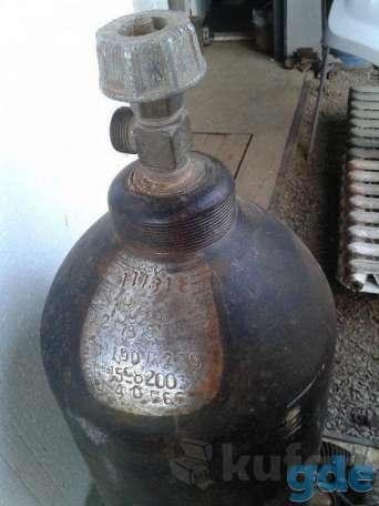 баллон углекислотный 40 литров ЗАПРАВЛЕННЫЙ АТТЕСТОВАННЫЙ, фотография 2