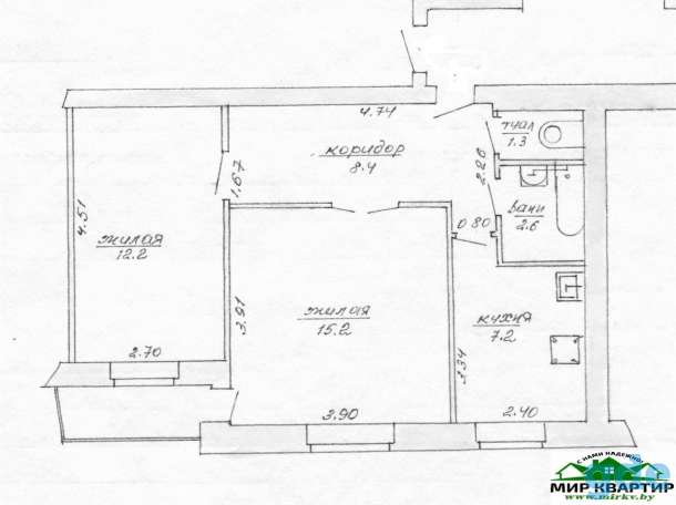 2-ком квартира по ул. Тухачевского (дог. 127/6), фотография 8