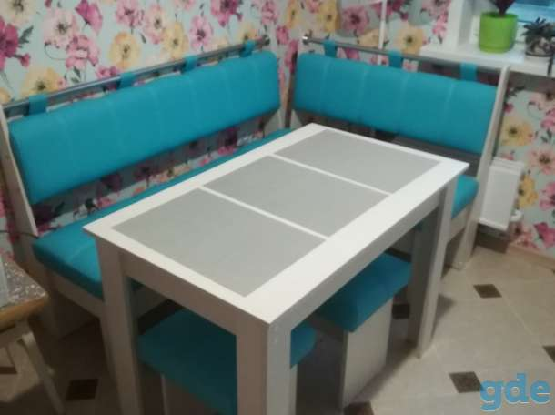 Цветные кухонные уголки.Комплект, фотография 5