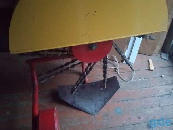 Картофелекопалка КМ-2 к мотоблоку, фотография 3