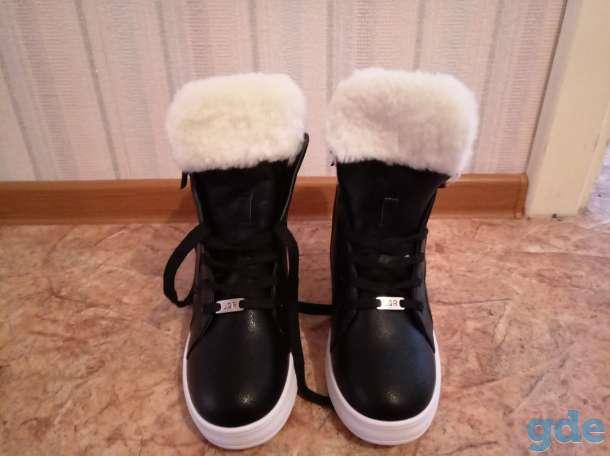 Стильные, современные и тёплые ботинки, фотография 2