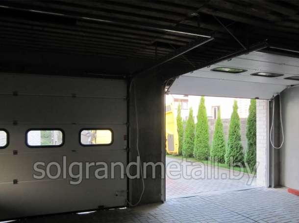 Гаражные секционные ворота Алютех г. Лунинец, фотография 4