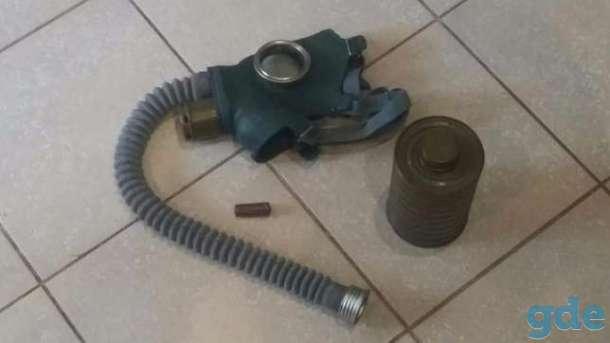 Противогаз СССР ГЛ-4У новый с фильтром и подсумком., фотография 1