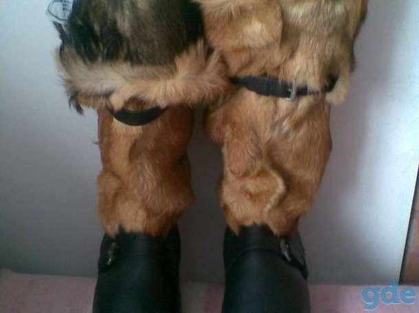 Унты лётные кожаные,натуральные, фотография 1