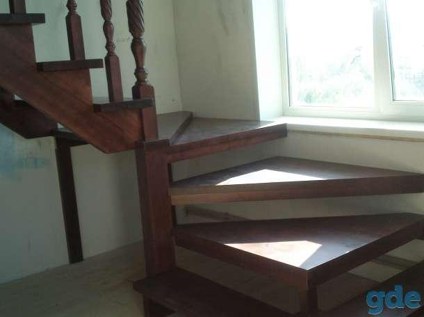 деревянные лестницы, фотография 3