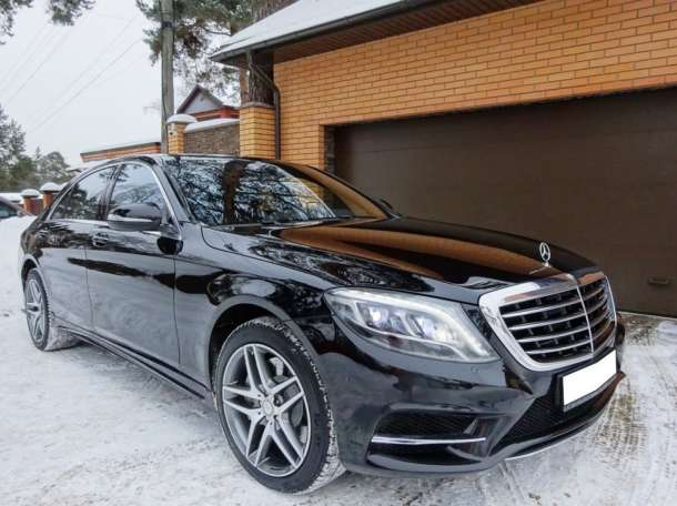Аренда авто с водителем в Минске. Mercedes W222 S500 Long., фотография 3