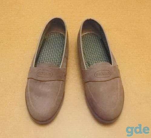 Женские туфли из замши. Р-р 36 (бежевые), фотография 1