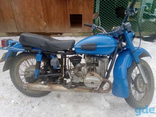Мотоцикл Урал, фотография 1