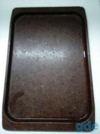 Поднос пластмассовый советский 49х33 см., фотография 1