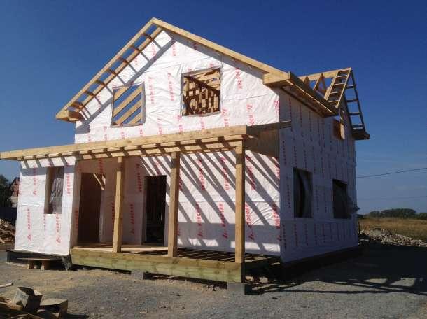 строительство дачных домов, фотография 12