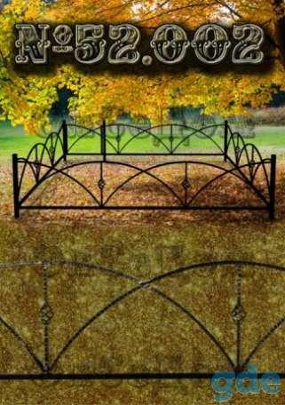 Ритуальные ограды и кресты, фотография 1