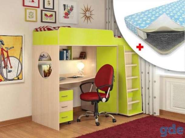 Прекрасная кровать-чердак для ребёнка в Славгороде, фотография 1