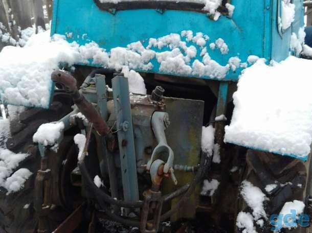 ВНИМАНИЕ!!! Продается самодельный трактор с двигателем от трактора Т-25. Состояние 9/10. В качестве бонуса идет прицеп,, фотография 7