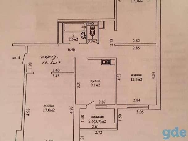 Продам 3-х комнатную квартиру, Лобанка 91, Лобанка 91, фотография 1