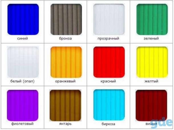 Поликарбонат сотовый всех цветов и толщин (с 2ой-УФ защитой). Доставка по РБ!, фотография 7
