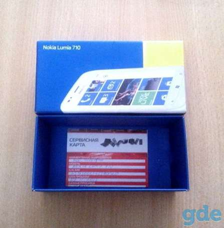 Смартфон Nokia Lumia 710 Black, фотография 8