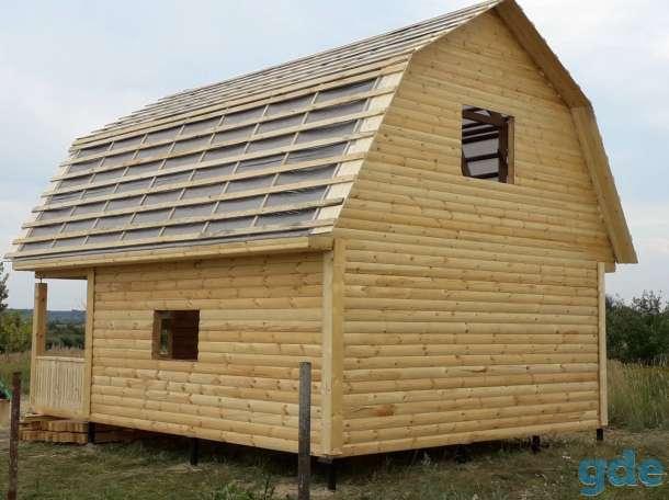 Дом из бруса сруб 6×8 установка в Молодечно, фотография 7