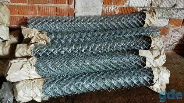 Оцинкованная сетка рабица с доставкой в Дзержинск, фотография 1