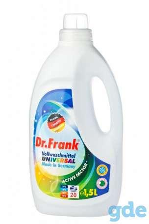 Высококачественное бесфосфатное средство для стирки из Германии Dr. Frank 1.5л, фотография 1