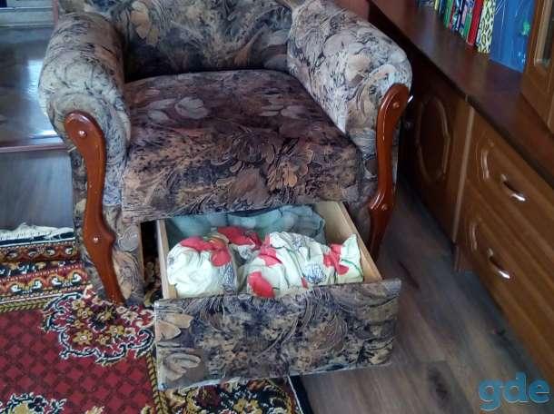Продам угловой диван + кресло (комплект) б/у, фотография 4