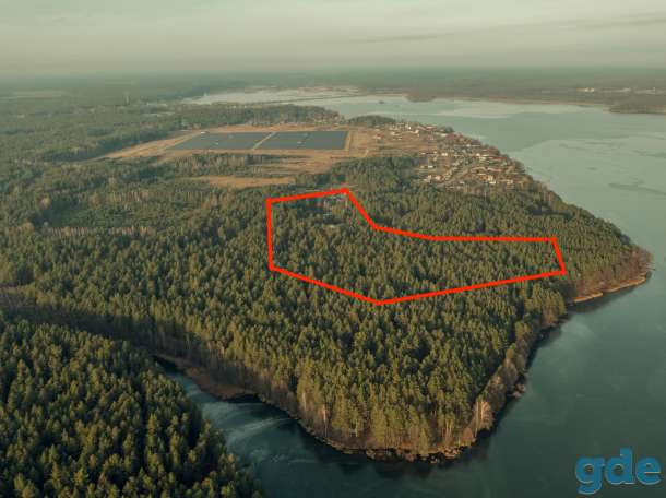 Продам земельный участок со строениями в живописном месте на берегу озера!, фотография 1