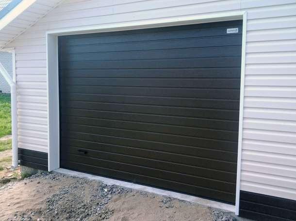 секционные гаражные ворота в дмитрове