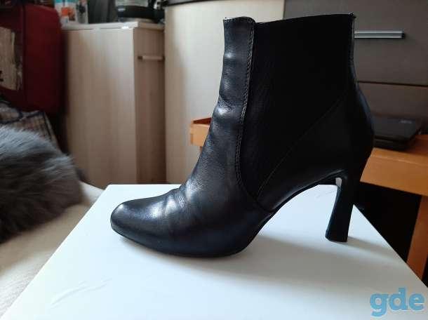 Ботинки весенние, со вставкой из резинки, 37р., фотография 2