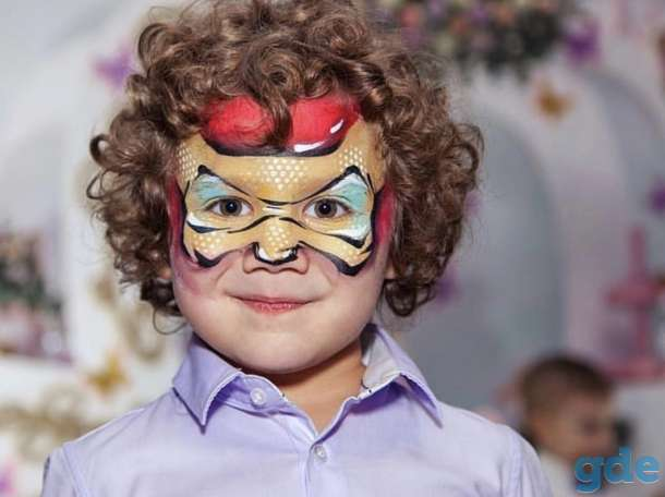 Аквагрим на детский праздник и день рождения, фотография 1