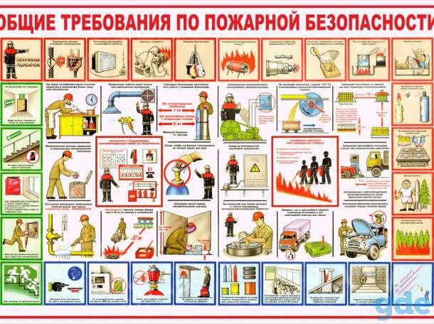 Стенды по пожарной безопасности, фотография 3