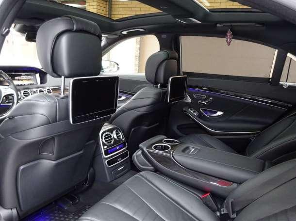 Аренда авто с водителем в Минске. Mercedes W222 S500 Long., фотография 5