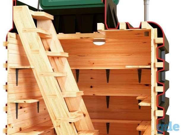 Погреб пластиковый Тортила 3.0 на 10м3 для дома и дачи, фотография 4