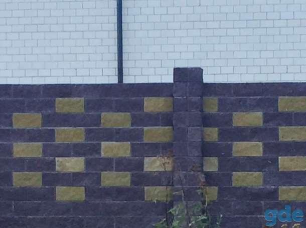 Предлагаем декоративные блоки Бессер (Блок колотый) . Доступен широкий ассортимент расцветок., фотография 11
