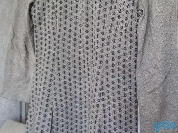 Платье с жилеткой удлиненной, б.у, р.44-46, фотография 2