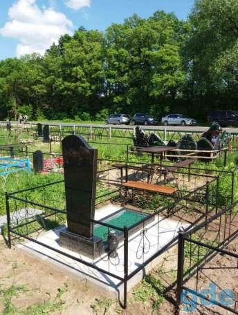 Благоустойство могил и установка памятников под ключ Лида и рн, фотография 1