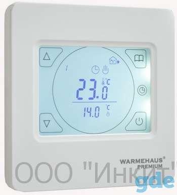 Терморегулятор программируемый Warmehaus touchscreen, фотография 1