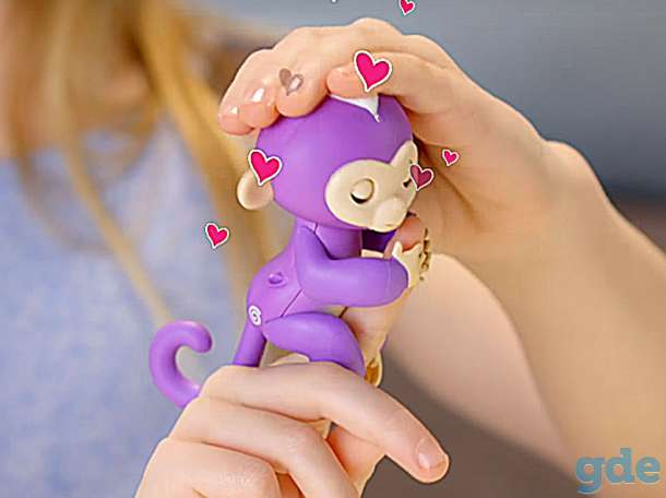 Ручная обезьянка Fingerlings новая, в упаковке, фотография 7