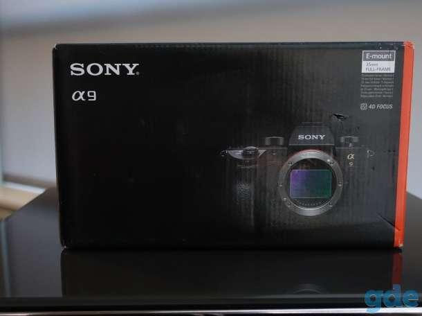 Sony Alpha a9 беззеркальных цифровой фотокамеры (только корпус), фотография 1