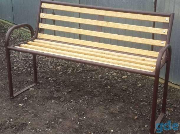 Скамейка уличная, фотография 2