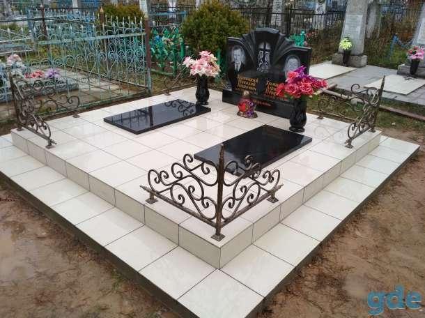 Благоустройства мест захоронения  Памятники, фотография 5