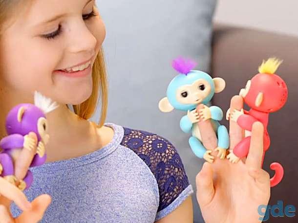 Ручная обезьянка Fingerlings новая, в упаковке, фотография 3