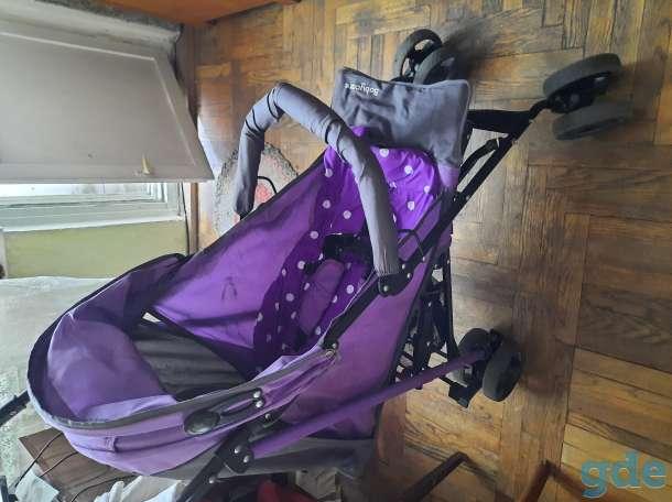 Прогулочная летняя коляска трость, фотография 9