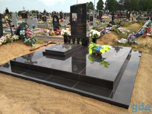 Благоустройства мест захоронения, фотография 1