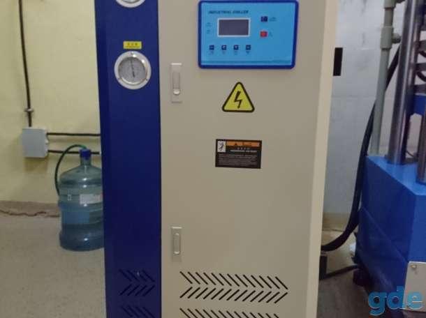 Промышленный термопресс для производства пластиковых карт, фотография 4