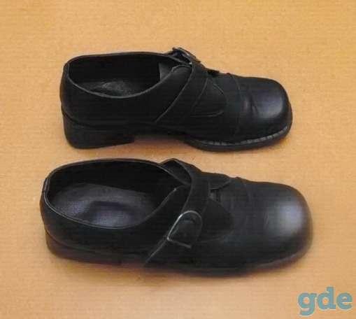Женские туфли из натуральной кoжи (на застёжке). Р-р 36, фотография 3