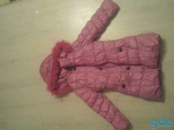 Зимняя куртка на девочку, фотография 2