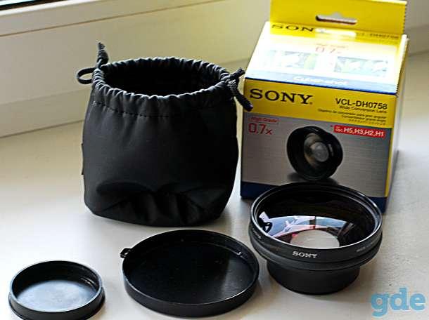 Широкоугольный конвертер Sony VCL-DH0758  58мм, фотография 1