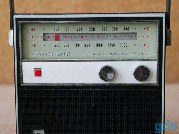 Радиоприёмник раритетный Вега 402, фотография 1