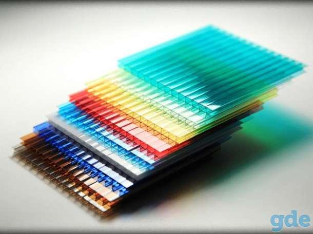 Поликарбонат сотовый 2.5; 3; 3.5; 4; 6; 8; 10 мм. Прозрачный и цветной!, фотография 6