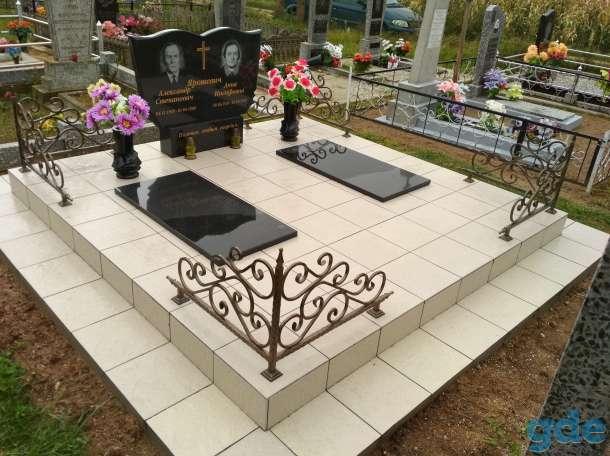 Благоустройства мест захоронения, фотография 4
