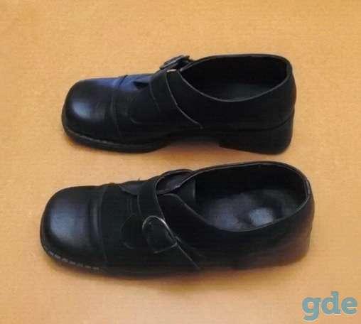 Женские туфли из натуральной кoжи (на застёжке). Р-р 36, фотография 2